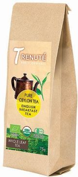 HERBATA CZARNA ENGLISH BREAKFAST BIO 75 g - T'RENUTE