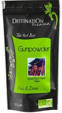 Herbata zielona Gunpowder 100g EKO Destination