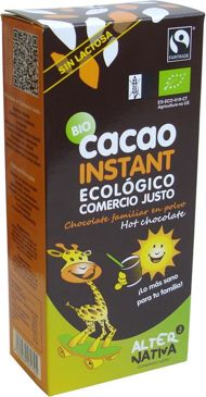 KAKAO INSTANT FAIR TRADE BEZGLUTENOWE BIO 250 g - ALTERNATIVA
