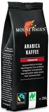KAWA MIELONA ARABICA 100% FAIR TRADE BIO 250 g - MOUNT HAGEN