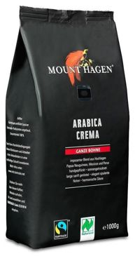 KAWA ZIARNISTA ARABICA 100% CREMA FAIR TRADE BIO 1 kg - MOUNT HAGEN