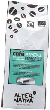 KAWA ZIARNISTA ARABICA/ROBUSTA ESSENZIALE FAIR TRADE BIO 500 g - ALTERNATIVA