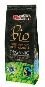 Kawa Molinari 500g BIO - Fairtrade