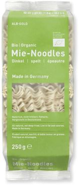 MAKARON (ORKISZOWY) NOODLE BIO 250 g - ALB-GOLD