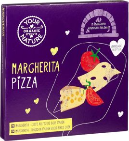 PIZZA MARGHERITA MROŻONA BIO 350 g - YOUR ORGANIC NATURE