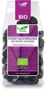 ŚLIWKI KALIFORNIJSKIE BEZ PESTEK BIO 200 g - BIO PLANET