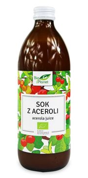 SOK Z ACEROLI NFC BIO 500 ml - BIO PLANET