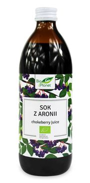 SOK Z ARONII NFC BIO 500 ml - BIO PLANET