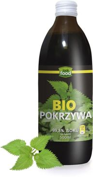 SOK Z POKRZYWY BIO 500 ml - LOOK FOOD