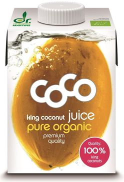 WODA KOKOSOWA KING BIO 500 ml - COCO (DR MARTINS)